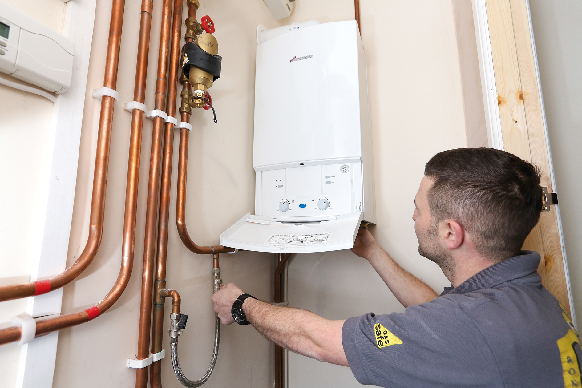 Worcester Gas Safe Centra Heating Installer